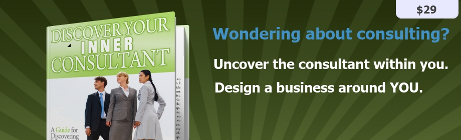 Start a consulting business - a guide for helping you Discover Your Inner Consultant