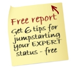 Get 6 tips for jumpstarting your expert status - put your email in the box above and press enter.