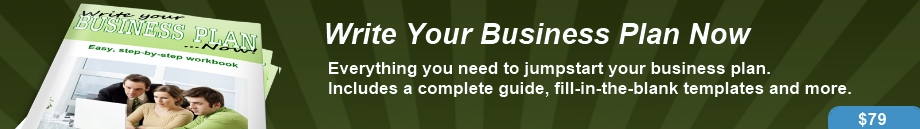 Write Your Business Plan Now - Complete Kit