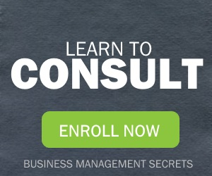 Learn to consult - sign up for our course