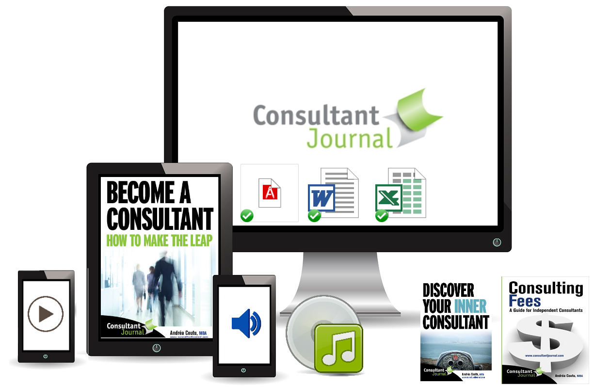 Consulting course is jam-packed with valuable content