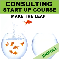 Become a Consultant - Consulting Start-up Course